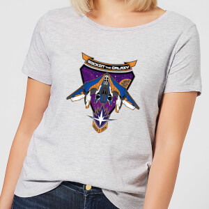 Marvel Guardians Of The Galaxy Rockin Milano Women's T-Shirt - Grey