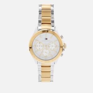 Tommy Hilfiger Men's Hudson Metal Strap Watch - Rou White
