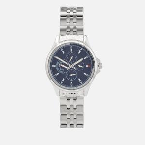 Tommy Hilfiger Men's Shawn Metal Strap Watch - Silver