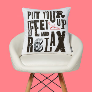 Monopoly Feet Up And Relax Square Cushion
