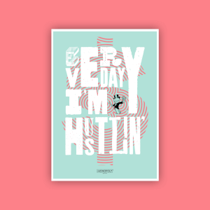 Monopoly Hustlin' Fine Art Giclée Print - A2