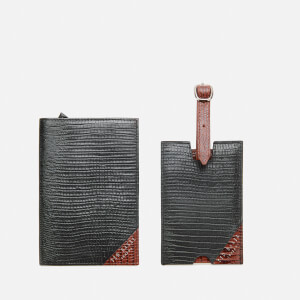 Ted Baker Men's Arter Passport and Luggage Tag Set - Black