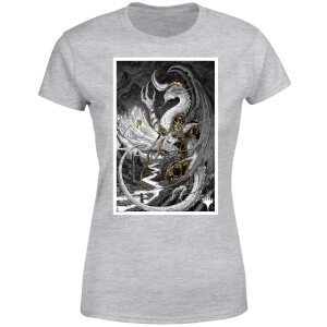 T-Shirt Magic The Gathering Bolas Poster Art - Grigio - Donna