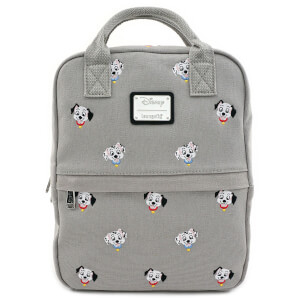 Loungefly Disney 101 Dalmatians Canvas Embroidered Backpack