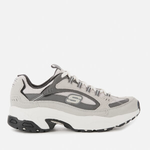 Skechers Women's Stamina Cross Road Trainers - Grey