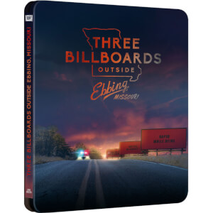 Three Billboards Outside Ebbing, Missouri - Zavvi Exclusive 4K Ultra HD Steelbook