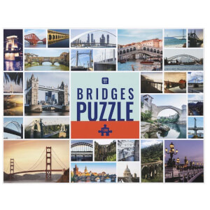 Worldly Wise Bridges Puzzle - 1000 Piece