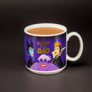 Disney Villains 'It's Good To Be Bad' Mug