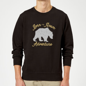 Adventure Born To Roam Sweatshirt - Black