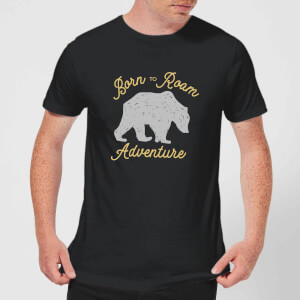 Adventure Born To Roam Men's T-Shirt - Black