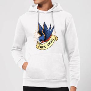 Swallow Free Spirit Hoodie - White