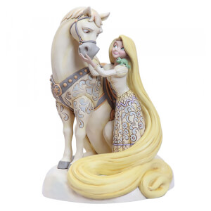 Disney Traditions - Innocent Ingenue (Rapunzel White Woodland Figurine)