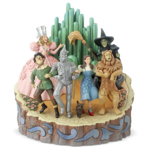 The Wizard of Oz by Jim Shore - Wizard of Oz Carved By Heart Figurine