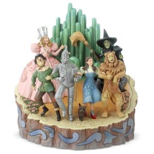 Scena da Il Mago di Oz di Jim Shore, linea Wizard of Oz - Carved by Heart