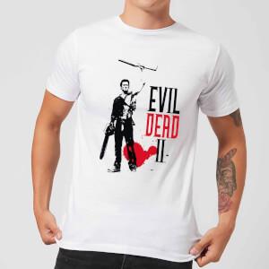 Evil Dead 2 Ash Silhouette Men's T-Shirt - White