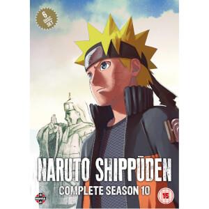 Naruto Shippuden Complete Season 10 Set (Episodes 459-500)