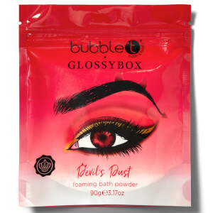 Bubble T x Glossybox Devils Dust Foaming Bath Powder