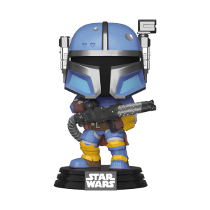 Star Wars The Mandalorian Heavy Infantry Mandalorian Funko Pop! Figuur