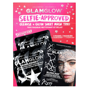 GLAMGLOW Sheet Mask Trio (Worth £24.00)