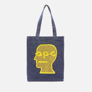 A.P.C. X Brain Dead Men's Brain Dead Tote Bag - Yellow