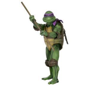 Figurine Donatello, échelle 1:4, Les Tortues Ninja (film de 1990) – NECA