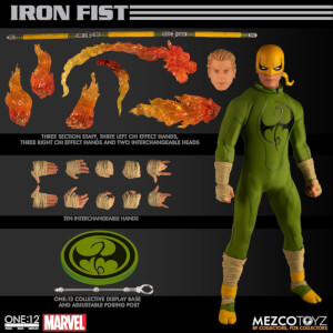 Mezco One:12 Collective Marvel Comics Iron Fist Action Figure