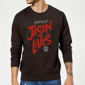 Friday the 13th Jason Lives Sweatshirt - Black