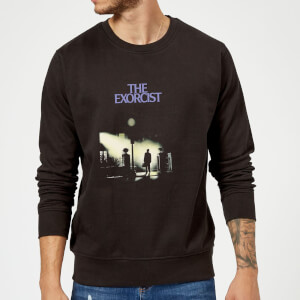 The Exorcist Poster Sweatshirt - Black