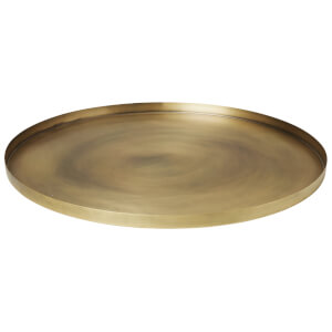 Broste Copenhagen Elias Iron Tray - Brass