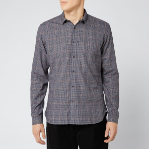 Oliver Spencer Men's Clerkenwell Tab Shirt - Brookland Brown