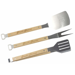 Wonder Woman BBQ Tool Set - 3 Pieces