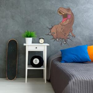 Pegatina mural T-Rex Jurassic Park