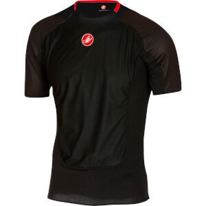 Castelli Prosecco Wind Short Sleeve Baselayer - Black