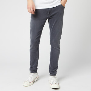 Nudie Jeans Men's Skinny Lin Jeans - Concrete Grey