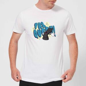Yas Queen! Cartoon Men's T-Shirt - White