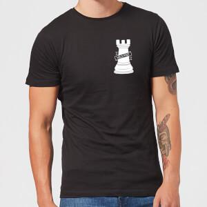 Hold Fast Pocket Print Men's T-Shirt - Black