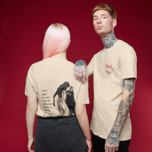 T-Shirt Dracula 2 (Hammer) - Bianco Vintage