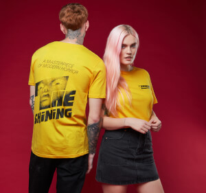 T-shirt Shining - Jaune
