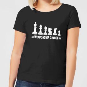 Weapons Of Choice Monochrome Women's T-Shirt - Black