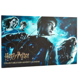 Harry Potter Limited Edition verzamelmunten adventskalender - Zavvi Exclusive