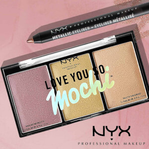NYX Professional Makeup Metallic Eyeliner - Rose Gold (Free Gift)