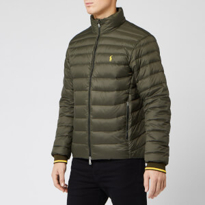 Polo Ralph Lauren Men's Packable Down Jacket - Dark Loden Khaki