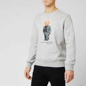 Polo Ralph Lauren Men's Bear Sweatshirt - Stadium Pepper Heather