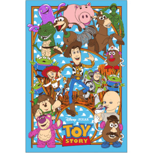 Disney's Toy Story Lithograph Print by Germain Mainger -Zavvi Exclusive