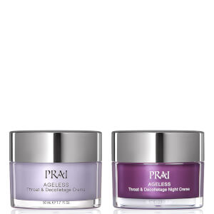 PRAI AGELESS Throat and Decolletage Day and Night Rescue Duo 50ml+50ml (Worth $52.50)