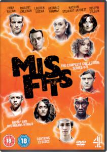 Misfits: Series 1-5