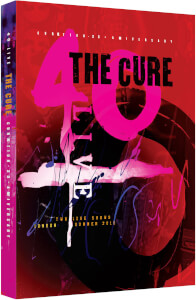 THE CURE: 40 LIVE - CURÆTION-25 + ANNIVERSARY Hardbook (Includes 2 Blu-rays)