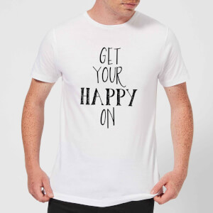 Get Your Happy On Men's T-Shirt - White