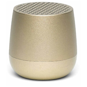 Lexon MINO Bluetooth Speaker - Light Gold