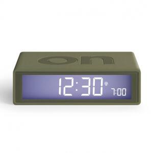 Lexon FLIP+ Alarm Clock - Rubber Khaki